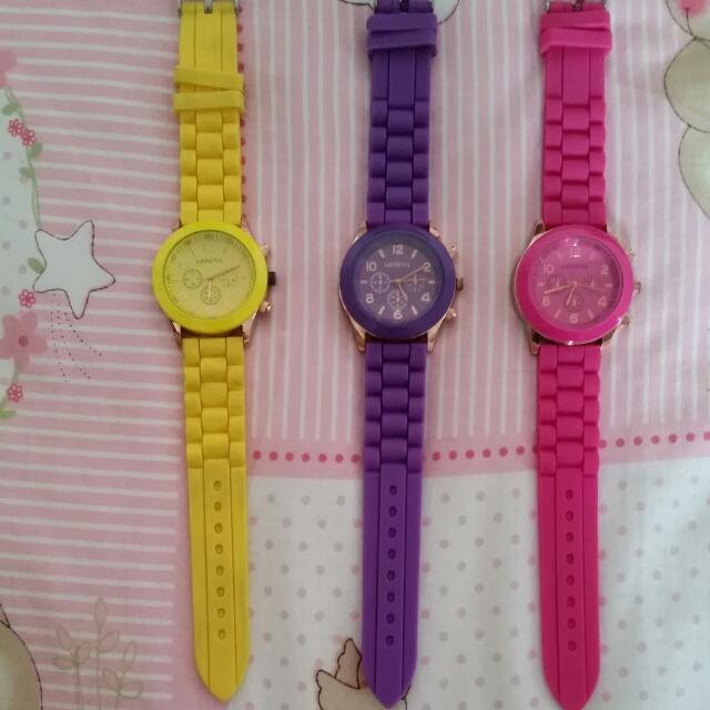 馬卡龍手錶(可用發票換)
