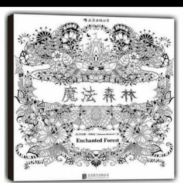英文版《秘密花園》第二部 Enchanted Forest魔法森林現貨