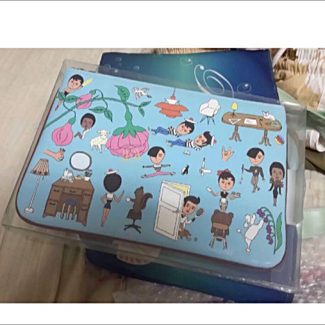 韓國品牌 ooh la la化妝包
