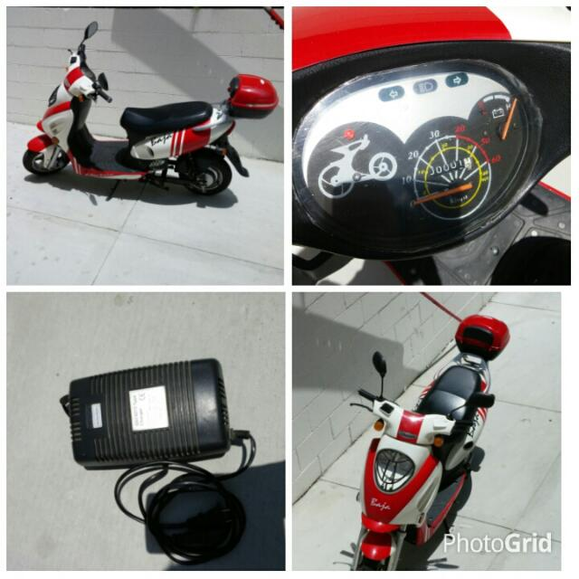 Baja electric scooter like new