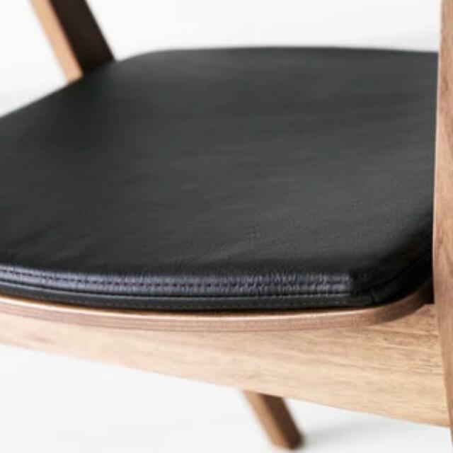 Ikea Stockholm Chair Cushion Full Grain Calf Leather Home