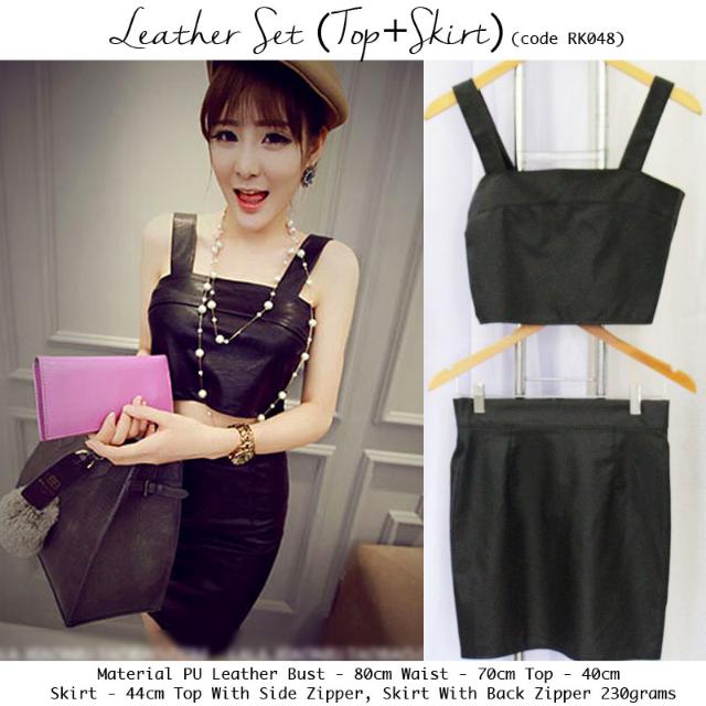 Leather Set Import Premium RK048