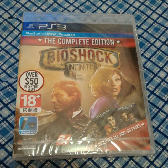 PS3 BIOSHOCK INFINITE THE COMPLETE EDITION 生化奇兵 無限之城 完全版 全新未拆