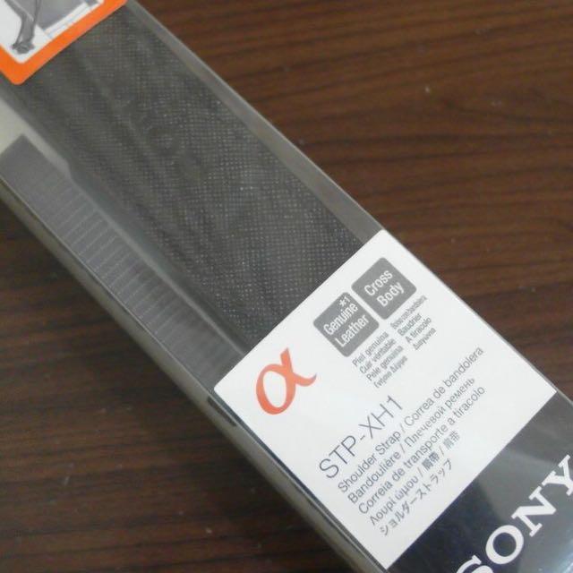 SONY STP-XH1 皮質相機背帶
