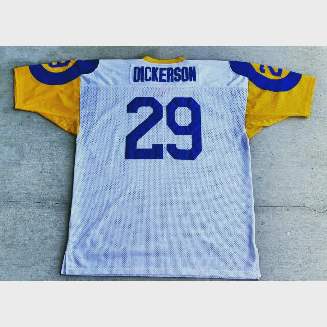 buy online fb4b3 cae0c Vintage Los Angeles Rams Eric Dickerson Jersey By Mitchell ...