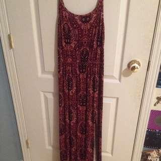 long maxi american eagle dress