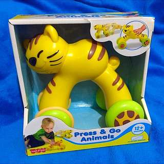 BNIB Little learner: Press & go Animal Cat