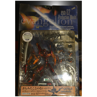 Kaiyodo Xebec Evangelion Eva-02 Production Model Metallic Repaint