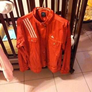 adidas愛迪達紅色外套