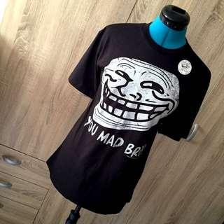 """""""U Mad Bro?"""" & """"Problem?"""" Troll T-Shirt"""