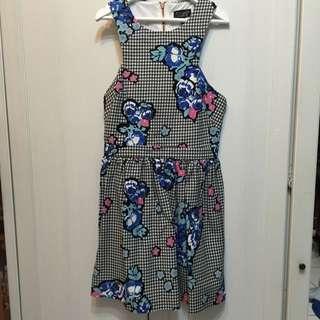 TOPSHOP復古洋裝