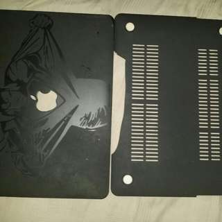 Black MacBook Air 13 Inch Cover With Sticker