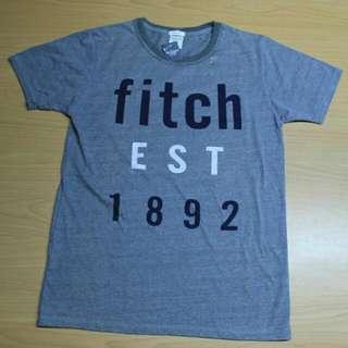 超百搭灰色A&F T-shirt