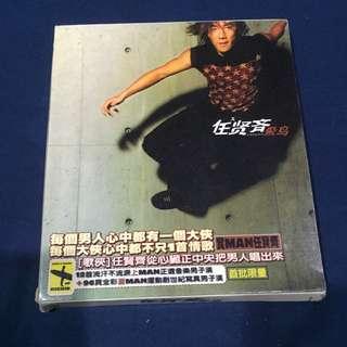 任賢齊 飛鳥 二手cd 附寫真書