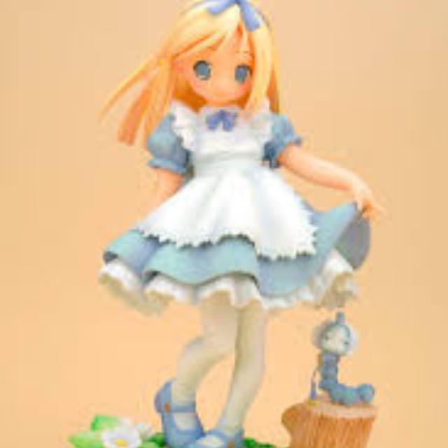 徵收各式愛麗絲公仔,各商品。