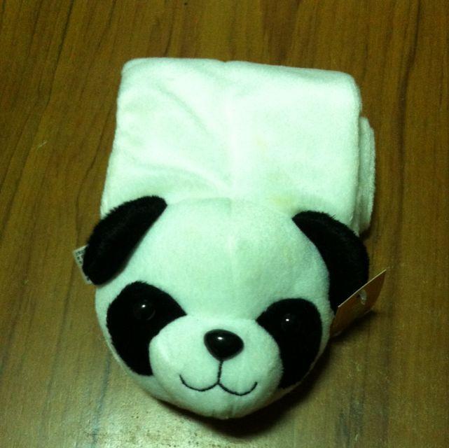 兒童熊貓圍巾