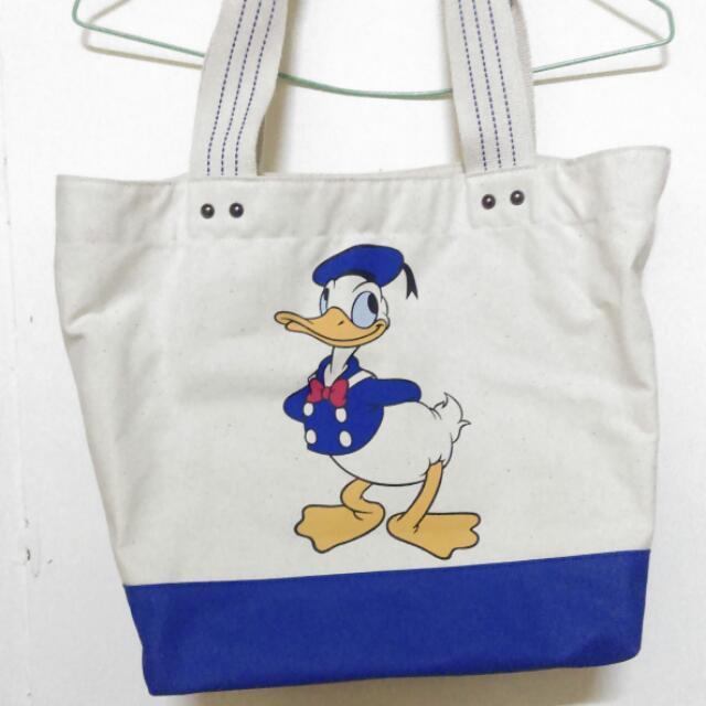 東京迪士尼購入✨唐老鴨帆布袋