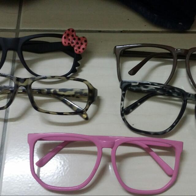 (全新)無框造型眼鏡
