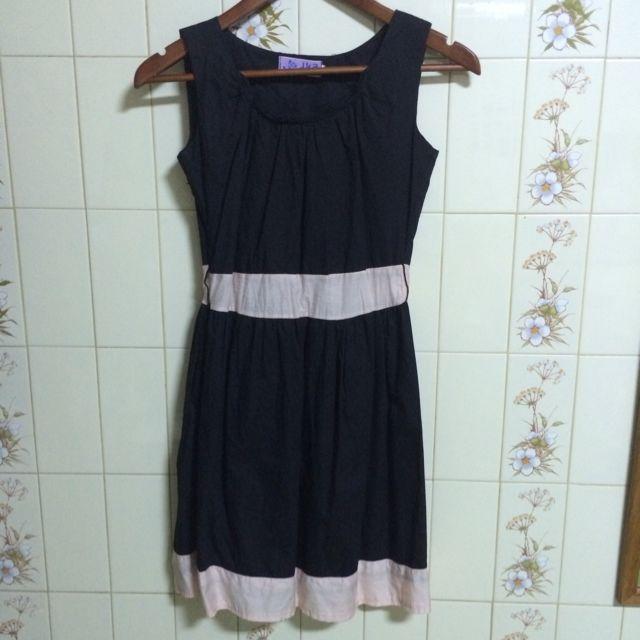 (保留)✨降價出清✨黑色無袖氣質洋裝