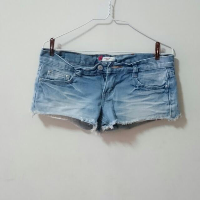 低腰 超短 性感 牛仔短褲