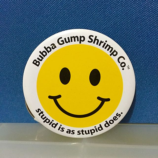 *ᴏʀɪɢɪɴᴀʟ* Bubba Gump Keychain/Can Opener