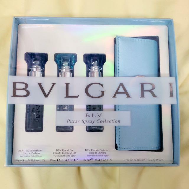 BVLGARI 10ml女香x3 旅行組
