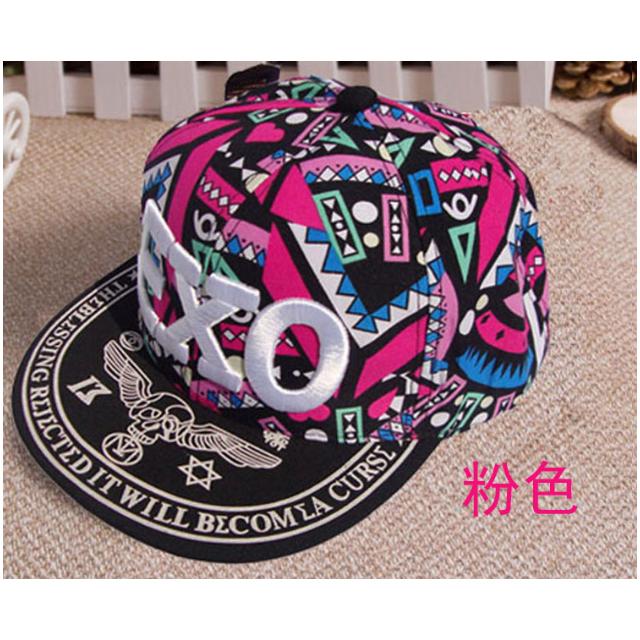 嘻哈EXO親子潮帽棒球帽