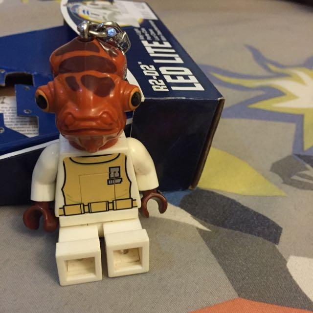 LEGO星際大戰 阿克巴上將 鑰匙圈