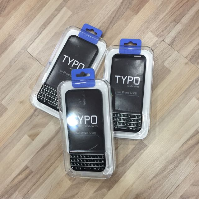 uk availability 7f10a 71f34 New Ryan Seacrest iPhone 5/5s TYPO Bluetooth Keyboard