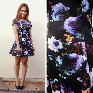 NSA Mystic Floral Flare Dress