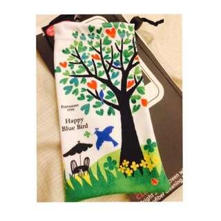 日本 Prairie Dog KYUKYU手機袋—幸福青鳥