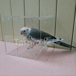 (No Stock) Parrot No Mess Feeder- Tidy Feeder M Size
