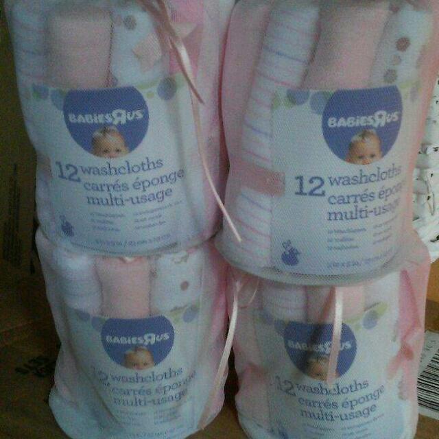 12 Washcloths