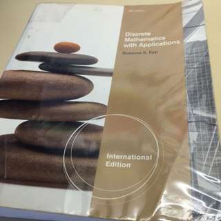 Discrete Mathematics With Applications (4th Edition)