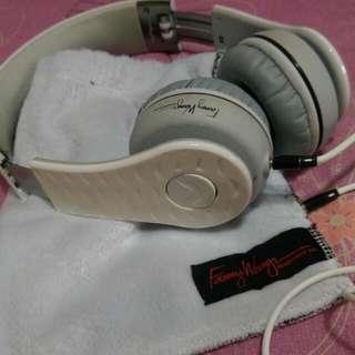 Fanny Wang  頭戴式耳機-白色