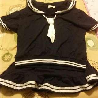 水手服 裙+衣
