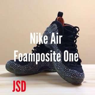 Nike Air Foamposite Pro 太空 石斑魚 南瓜