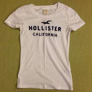 Hollister 女版 S號 白色