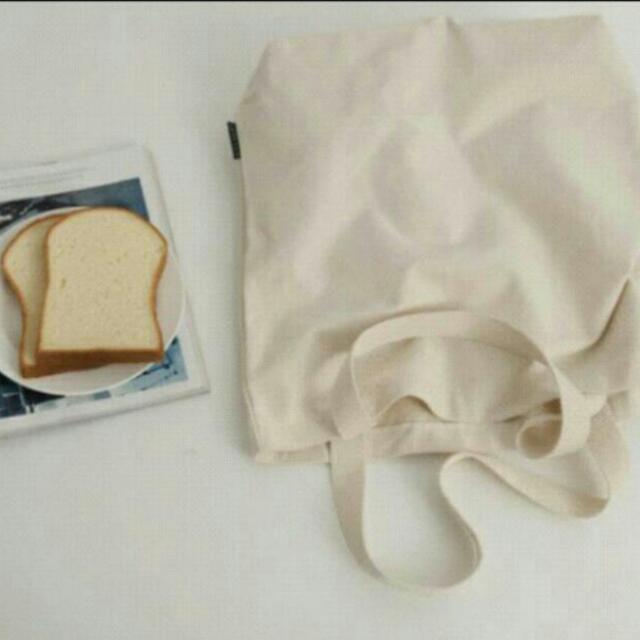 全新-簡約帆布袋