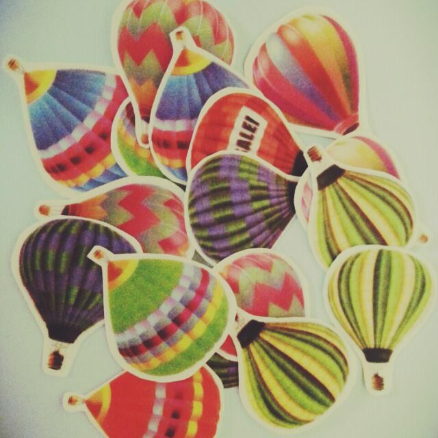 夢幻熱氣球款