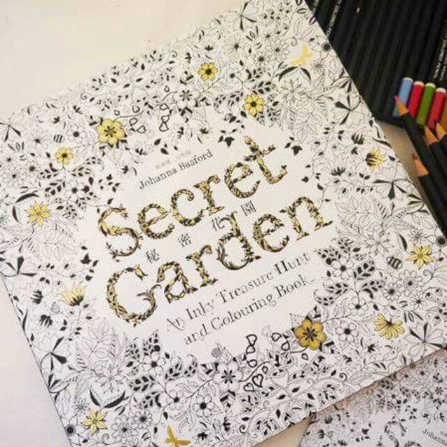 [搜好物]超取付款免運/[KS0002]秘密花園繪本畫冊