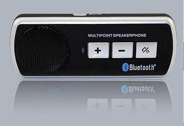 車用藍牙 4.0 版 免持電話 藍芽喇叭 藍牙耳機 車用汽車藍牙 中文語音 遮陽板