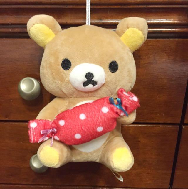 拉拉熊 懶懶熊娃娃 玩偶