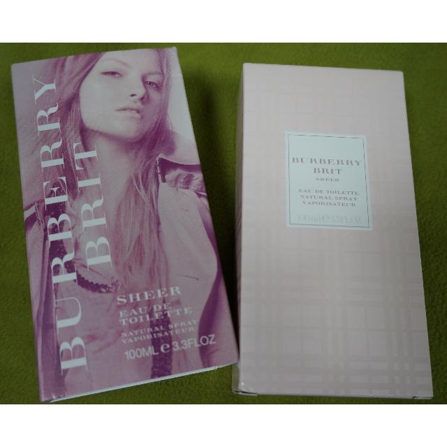 (正品) 降價~$900~Burberry Brit Sheer 粉紅風格淡香水 100ml