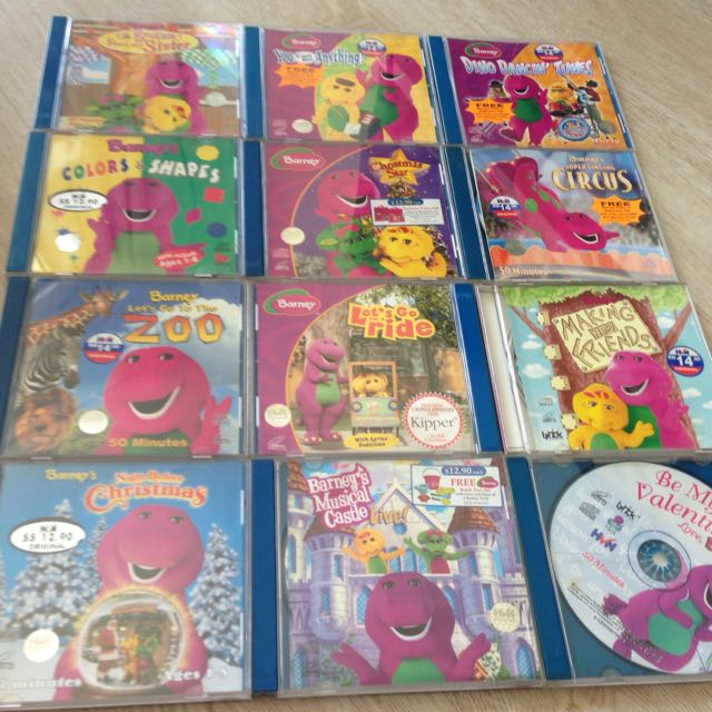 Barney Vcds Babies Amp Kids On Carousell