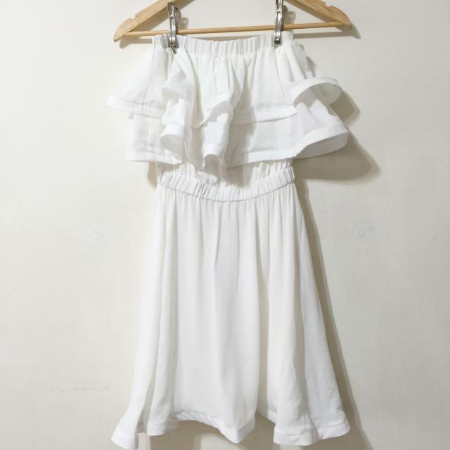 BN Korean Ruffle Top Summer Dress