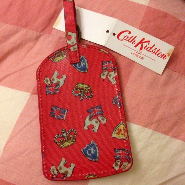 英國品牌Cath Kidston 行李吊牌