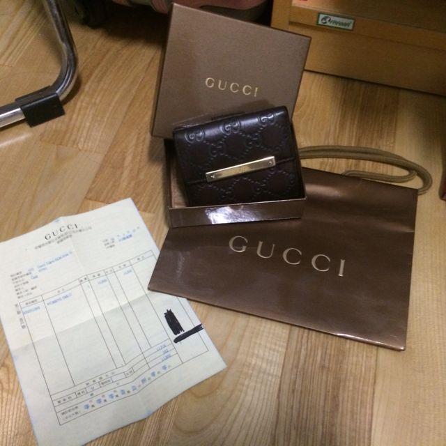 Gucci短夾