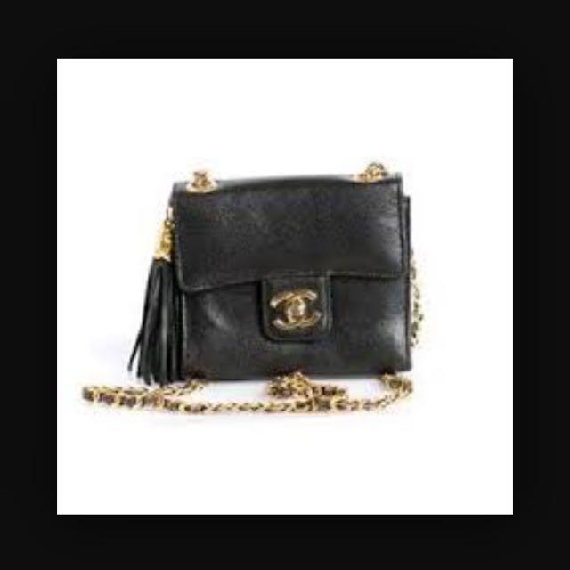 誠徵vintage Chanel老香包