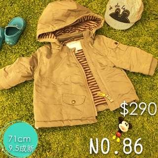 (9.5新)男童防風外套
